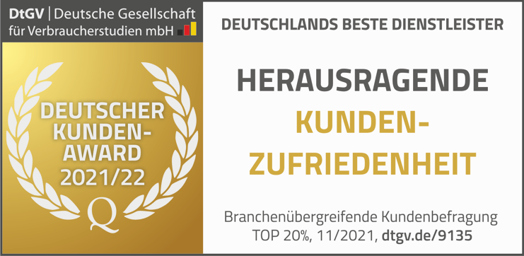 Deutscher Kundenaward 2020/21