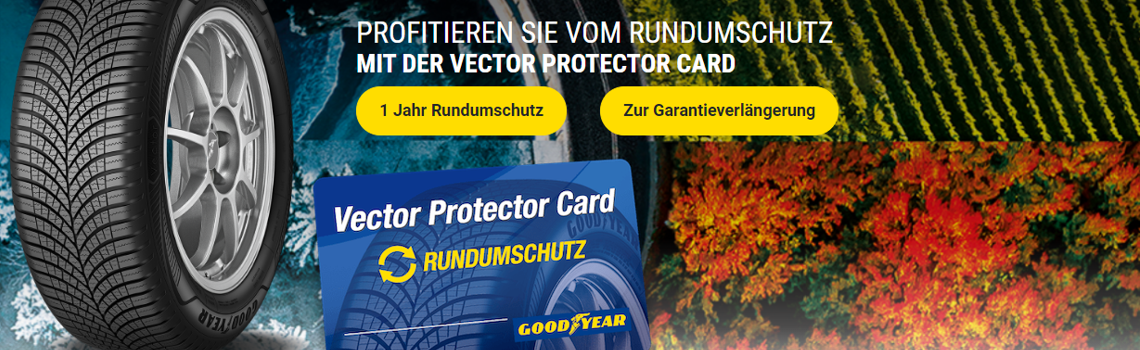 Rundumschutz mit Vector Protector Card