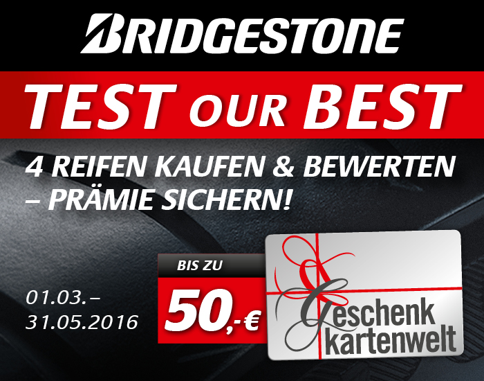 bridgestone test our best reifen online g nstig kaufen. Black Bedroom Furniture Sets. Home Design Ideas